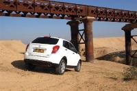 סאניונג קוראנדו במבחן שטח. רכב הפנאי יוסיף לכם ברזל לדיאטה. צילום: פז בר