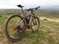 מבחן אופניים KTM e-RACE 29. אופניים חשמליים לשטח? כבר לא הזיה ובטח לא הזעה. אחרי הטיפוס להר חירן. צילום: רוני נאק