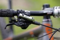 מבחן אופניים KTM RACE. מבחן שטח לאופני הרים קרוס קאנטרי תחרותיים של KTM. מזלג FOX, איבזור שימאנו XT, ורכיבים של ריטצ\'י. מתכון בטוח למהירות על פני קילומטרים רבים. צילום: פז בר