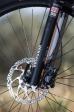 מבחן אופניים ק.ט.מ אולטרה 1964 לימטד אדישן. דיסק קדמי 180, רוקשוק REBA עם נעילה מרחוק. צילום: תומר פדר