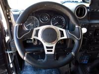 """מבחן רכב לנד רובר דיפנדר פומה משופר. צ'יפ מנוע מעלה את התפוקה לכ-180 כ""""ס, יש מתלים של FOX, נעילות KAM, מוטורת רדיוס מחוזקים וכל מה שלא יעצור משפחה בשטח. האם הדיפנדר האולטימטיבי? צילום: רמי גלבוע"""