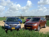 מבחן רכב: סובארו פורסטר מול מאזדה CX5 מול מיצובישי אאוטלנדר מול ניסאן קאשקאי - מי יהיה הג\'יפון הבא של ישראל? צילום: פז בר