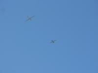 מועדון דאיה מגידו. גרירה של מטוס את הדאון במבט אופייני מהקרקע צילום: רוני נאק