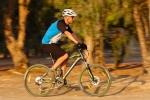 מבחן אופניים מרידה 120-400. שיכוך מלא עם גלגלי 26 אינץ ותקציב של 4,200 שקלים. אפשר לראות את תמוכות השרשרת הקצרות ואת זווית ההיגוי השטוחה. גיאומטריה מודרנית ועדכנית. צילום: תומר פדר