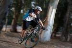 מבחן אופניים מרידה 120-400. שיכוך מלא עם גלגלי 26 אינץ ותקציב של 4,200 שקלים. אפשר ליהנות גם בסינגלים בין העצים. כאן בא לביטוי הזריזות של גלגלי 26 אינץ. כבר כמעט שכחנו כמה זריזים וכפיים הגלגלים האלו. צילום: תומר פדר