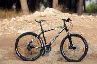 מבחן אופניים מרידה ביג 7 2014. עם גלגלי 27.5 אינץ\' ותג מחיר של 3,200 שקלים יש לאופני ההרים האלו משרעת יכולת רחבה מאד. צילום: פז בר