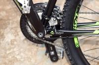 מבחן אופניים מרידה ביג 7 2014. איבזור היקפי של מרידה ברובו - איכותי ומגומר יפה מאד. צילום: פז בר