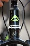 מבחן אופניים מרידה ביג 7 2014. ראש היגוי חרוטי - מסממני דור השלדות המודרני. צילום: פז בר