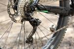 מבחן אופניים Merida OneForty 3-B. מעביר אחורי SLX עם מצמד - פריט מבורך. רכיבת מבחן על אופני AM מאד מעניינים - אם מבחינת היכולת, והמשרעת הרחבה שלה, ומבחינת התמורה לכסף. לטעמנו אחת הקניות הטובות היום. צילום: תומר פדר