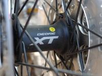 מבחן אופניים מרידה 140 XT. נאבות גלגל XT הן רק חלק מקיט האביזרים המלא של