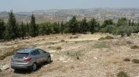 טיול שטח לקבר שמואל הנביא עם יונדאי IX35. קבר שמואל הנביא, מעיינות במבואות ירושלים ושביל אופניים קצר אך עם נוף מדהים. צילום: פז בר