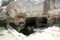 טיול שטח לקבר שמואל הנביא עם יונדאי IX35. קבר שמואל הנביא, מעיינות במבואות ירושלים ושביל אופניים קצר אך עם נוף מדהים. הנקבה של עין חנה ממערב לנבי סמואל. צילום: פז בר