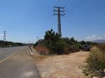 טיול שטח עם מיצובישי אאוטלנדר לבקעת בית נטופה וגוש שגב. הירידה מכביש 77. צילום: רוני נאק