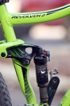 מבחן אופניים נורקו ריבולבר 2. בולם אחורי FOX CTD עם מתלה FSR של נורקו. צילום: פז בר
