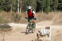 מבחן אופניים נורקו ריבולבר 2. עם בולם FOX CTD מאחור מעט מאד אנרגיה תבלע בדיווש בעמידה. אפילו עם סלעים הדורשים את מלא 100 ה-מ