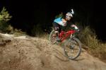 מבחן אופניים Norco Sight Alloy. זווית מזלג שטוחה מקנה בטחון רב במורדות תלולים - קוקפיט מצויין ותנוחת רכיבה ממורכזת ונוחה. צילום: תומר פדר