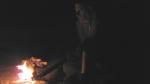 לילה בחוף ים המלח עם לנד רובר דיפנדר ושועל סקרן. צילום: אורי בן דוד