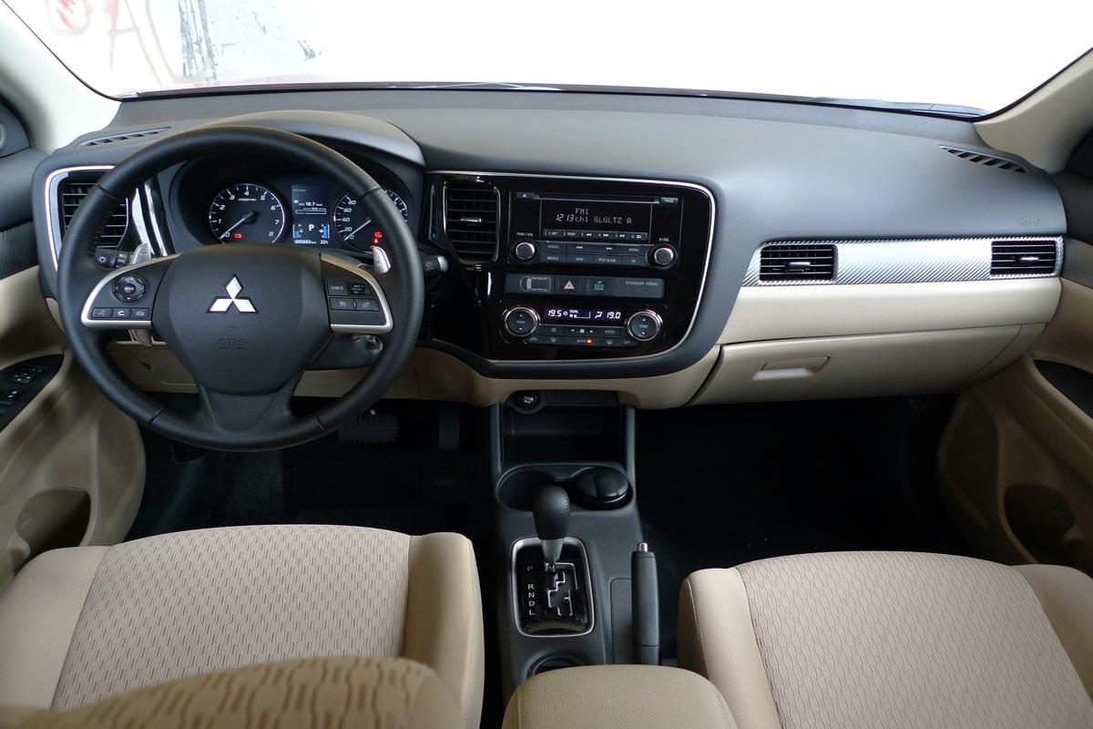 האופנה האופנתית מיצובישי אאוטלנדר   מבחן רכב   שבעה מושבים   כלמוביל   4X4   2013 DG-85