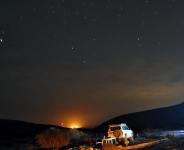 מסע ניסאן פטרול וחברים אל הר הנגב. יעלים בהרים וסטייקים על האש. קוביות בצמיגים ולא בבטן - ניסן פטרול וחברים יוצאים למרעה דרומי. צילום: רמי גלבוע