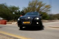אודי Q5 במבחן שטח מתנהגת גם בכביש צילום פז בר