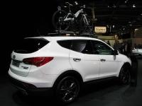 יונדאי סנטה פה 2013. מישוש ומגע ראשון לרכב הפנאי החדש מיונדאי. סנטה פה. צילום: רוני נאק