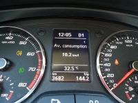 """בייקמוביל סיאט טולדו. מבחן רכב למשפחתית הקטנה החדשה של סיאט. צריכת הדלק הממוצעת על מחשב הדרך - קצת יותר מ-10 ק\""""מ לליט\'.  צילום: רוני נאק"""