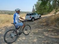 אופני סגל במבחן שטח. תודה מיוחדת לקמור יבואנית מיני על הסיוע להכנת הכתבה. צילום: פז בר