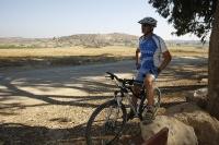 אופני סגל במבחן שטח. היסטוריה מקומית על השביל שבין סינגל חרובית לתל צפית - גם דוד המלך היה גאה צילום: פז בר