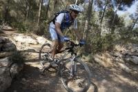 אופני סגל במבחן שטח. לא הכי חדים בסינגל אך בכל זאת לאופני ההרים של סגל יש יכולת לגרום לך לחייך צילום: פז בר