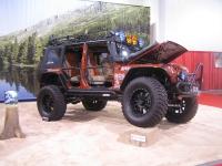 תערוכת SEMA 2011, תערוכת שיפורי הרכב ואביזרי הרכב הגדולה. ג\'יפים משופרים זו לא מילה גסה צילום: אילי אשרמן