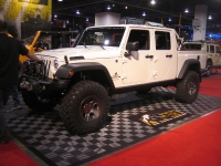 תערוכת SEMA 2011, תערוכת שיפורי הרכב ואביזרי הרכב הגדולה. ג'יפים משופרים זו לא מילה גסה צילום: אילי אשרמן