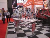 תערוכת השיפורים לרכב - SEMA 2011 - דוכן בולמי זעזועים למירוצים של FOX צילום : אילי אשרמן