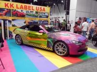 תערוכת שיפורי הרכב ואבזרי הרכב SEMA2013. מטורפת וצבעונית יותר מתמיד. אומנות, מכונאות והמון כוחות סוס בתערוכת שיפורי הרכב החשובה בעולם. צילום: באדיבות אאוטבק טכנולוגיות