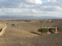 סמארט טורבו ליום הפתוח בערבה. מסע בין פלפלים לבחון האם אפשר לזלול 700 קילומטרים ביום אחד עם סמארט. צילום: רוני נאק