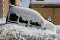 4X4 בשלג. מנהרת הרוח במג\'דל שאמס העניקה למכונית הקבורה, עיצוב אירודינמי מתקדם. צילום: רמי גלבוע
