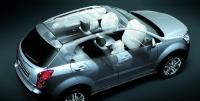 רכב פנאי חדש - סאנגיונג קורנדו משווק במחיר 179,500 שקלים - שש כריות אוויר ומערך בטיחות מלא צילום: סאנגיונג