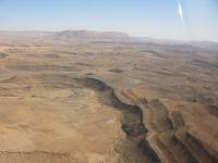 טיסת חוויה ב-TL סטינג S4. הר ארדון והמבוא לנחל נקרות. צילום: רוני נאק