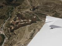 טיסת חוויה ב-TL סטינג S4. מתחת בערוץ מנזר מרסבה. צילום: רוני נאק