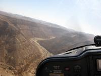 טיסת חוויה ב-TL סטינג S4. מעל ערוץ נחל נקרות. צילום: רוני נאק