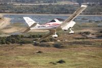 טיסת חוויה ב-TL סטינג S4. הקפה נמוכה במנחת ראשון. צילו: תומר פדר