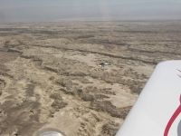 טיסת חוויה ב-TL סטינג S4. מעל נחל אביה ונאות הככר. צילום: רוני נאק