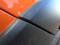 """מבחן דרכים סובארו XV. תרשמו: """"כנפיים שחורות מפלסטיק = רכב קשוח"""". ולסובארו XV יש הרבה קשיחות. צילום: פז בר"""