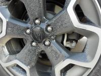 מבחן דרכים סובארו XV. ג'נט מגניב - ישר מאולמות תערוכת הרכב. מוסיף למראה ולקוטר הגלגלים וזה מצויין לשטח. צילום: פז בר