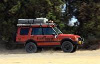 מבחן שטח לנד רובר דיסקברי TD5 משופר. האם רכב המסעות המושלם? צללית מושלמת לרכב המטופל בקפידה וחף מהחופשים המוכרים של לנד רובר מפעם. חביב גם בנהיגת שבילים מהירה. צילום: רמי גלבוע