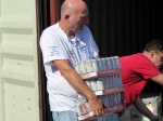 אלה תולדות צוות טלפארמה, ניצן שקל ודובי נוימן בראלי יוון 2014. צילום: רוני נאק