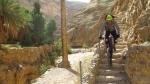 מבחן אופניים ברגמונט טריילסטר 7.0 פלוס. צמיגי 27.5 פלוס ברוחב 3.0 אינטש, קיט אביזרים חכם ועמיד, ושלדה עם דינאמיקה מעניינת. 15,300 שקלים לפני מבצעים או הנחות. בתמונה המדרגות האחרונות לפני סנט ג'ורג. הצמיגים השמנמנים ומתלי רוקשוקס בלעו את זה בקלות. צילום: רוני נאק