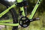 מבחן אופניים Trek Fuel EX 9.8. משולש שלדה קדמי קרבון, מתלה אחורי מסגסוגת. האם אלו האופניים הטוביםם ביותר שרכבנו עליהם? ייתכן מאד. המחיר אבל...אאוץ'. צילום: תומר פדר