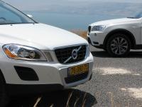 מבחן רכב משווה וולוו XC60 מול ב.מ.וו X3. שני מותגי עילית בקרב על הסגמנט החם ביותר. ל-ב.מ.וו ול-וולוו הרבה מן המשותף צילום: רוני נאק