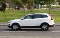 מבחן רכב משווה וולוו XC60 מול ב.מ.וו X3. וולוו XC60 מבשר את המראה המותגי החדש של וולוו, ומסתיר מנוע דיזל אימתני תוך כדי. צילום: פז בר