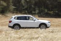 מבחן רכב משווה וולוו XC60 מול ב.מ.וו X3. ב.מ.וו X3 נחשב לטוב בקבוצתו ונהנה משירותיו של מנוע דיזל חזק וחסכוני מאוד. צילום: פז בר